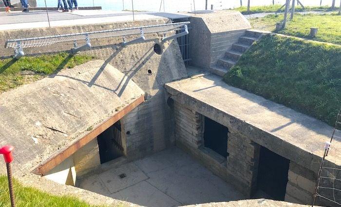 bunker pointe du hoc omaha Beach normandy day trip from Paris