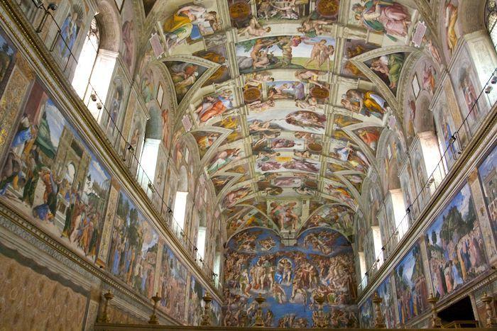 Sistine Chapel Walls