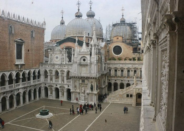 Doge's Palace Courtyard, Venice, Italy
