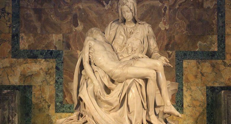 Michelangelo's La Pieta, St. Peter's Basilica, Vatican