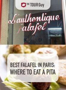 Falafel in Paris Pinterest