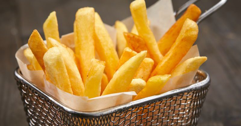 are french fries french