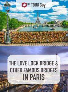 Love Lock and other Paris Bridges Pinterest
