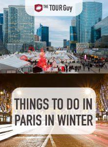 Paris in Winter Pinterest