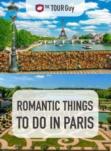Romantic Things to do in Paris Pinterest