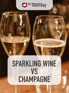 Sparkling Wine vs Champagne Pinterest