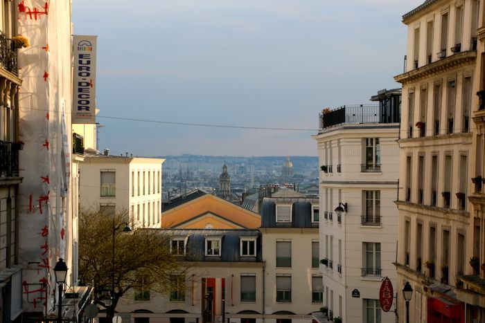 Montmartre neighborhood in Paris
