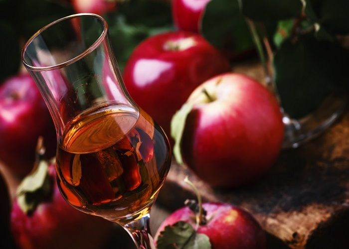 French cider in Normandy