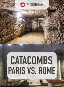 Difference Between Paris and Rome Catacombs Pinterest