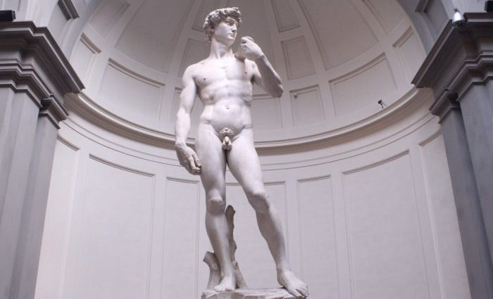 Statue of David Florence