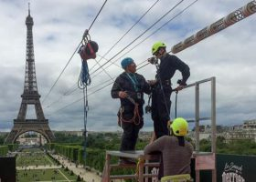Did You Know Perrier Set up a Zip Line to the Eiffel Tower in 2019?