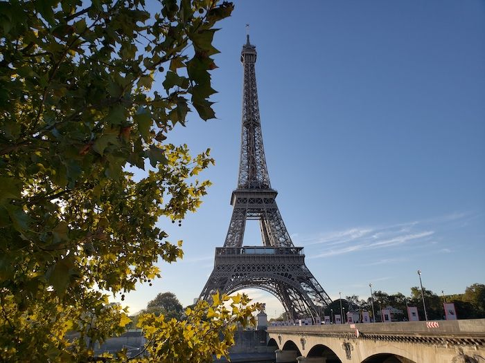 Eiffel Tower and Pont d'Iéna