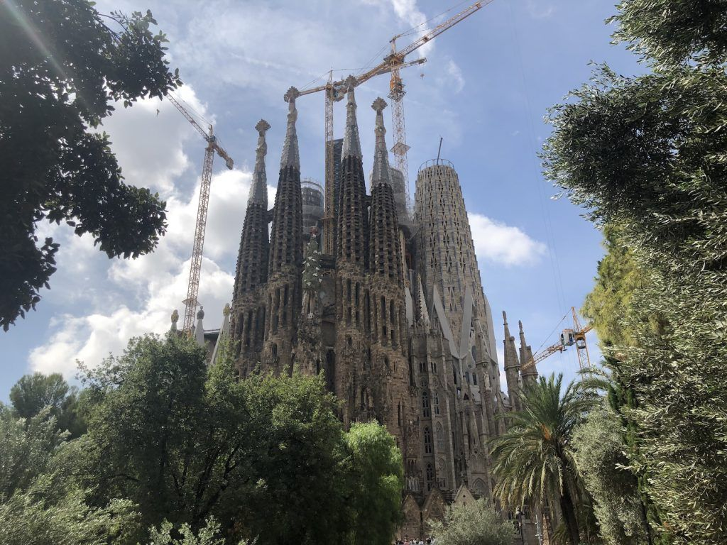 Sagrada Familia Construction Barcelona