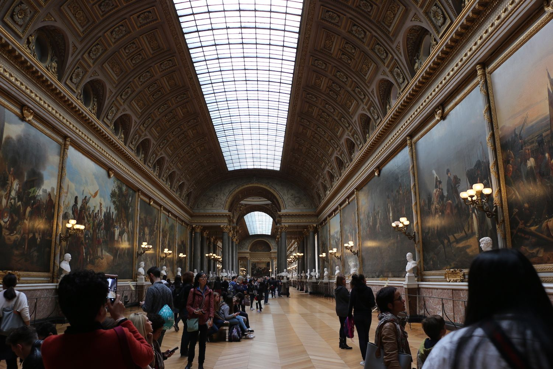 The Louvre Hallways