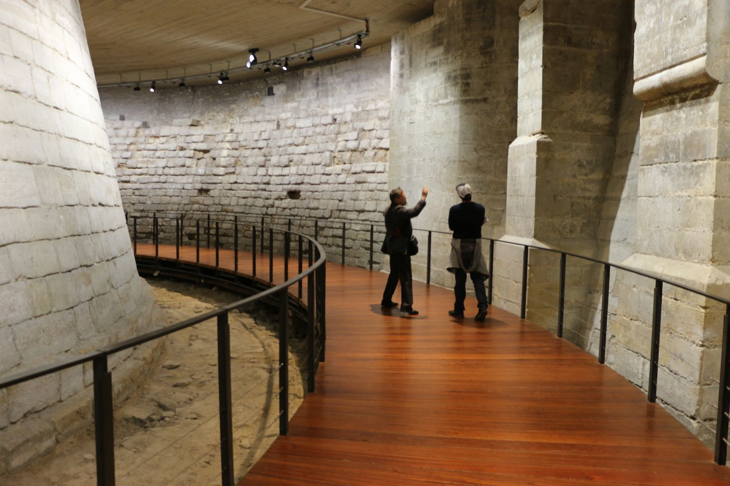 The Louvre Medieval Remains