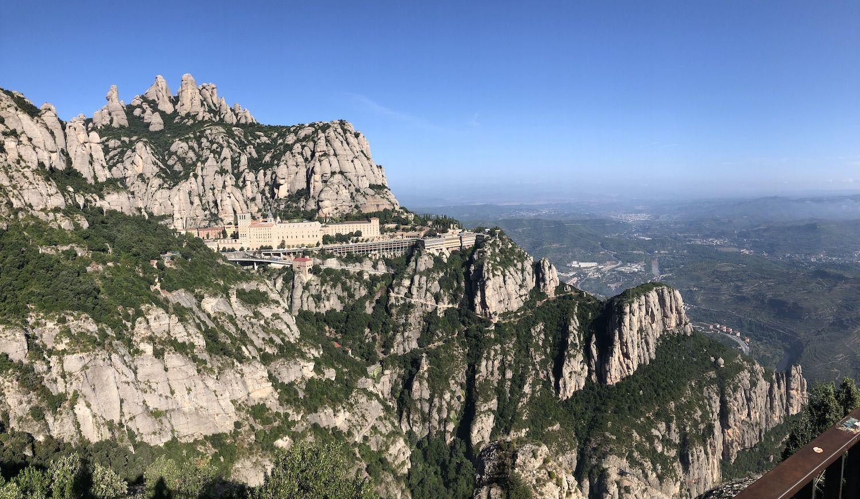 Hiking Views of Montserrat