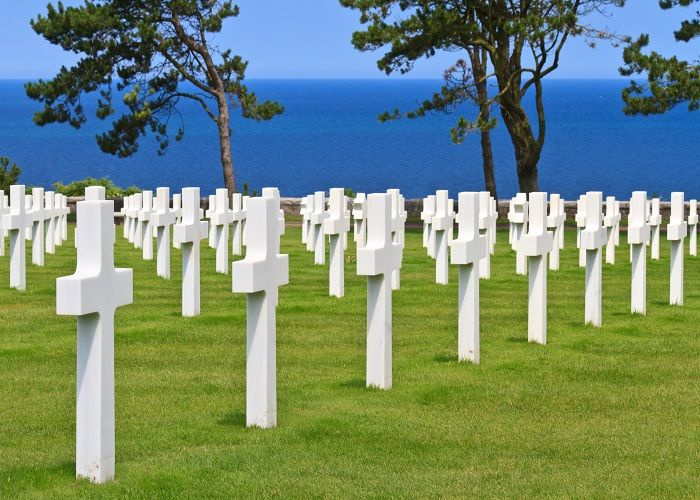 Normandy-American-Cemetery-Memorial-France