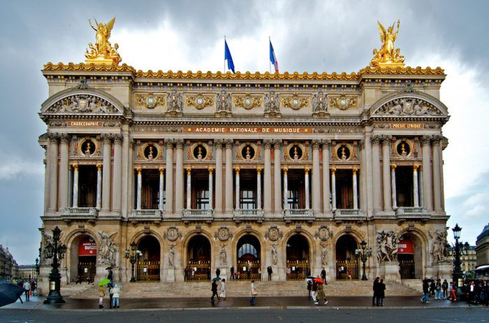 Garnier Opera House in Paris, France