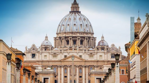 St Peter's Basilica in Rome