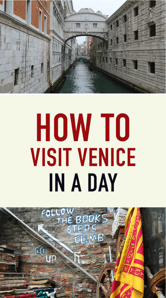 How to Visit Venice in a Day Pinterest
