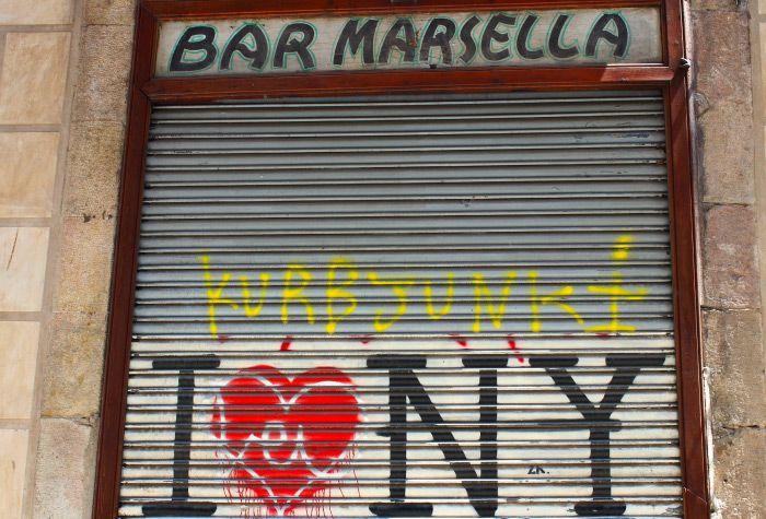 Bar Marsella in Barcelona