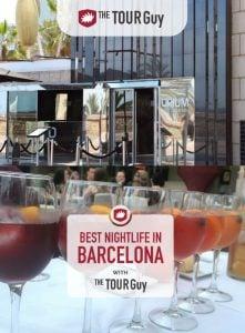 Nightlife in Barcelona Pinterest