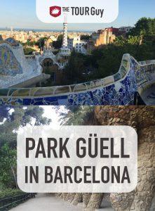 Park Guell in Barcelona Pinterest