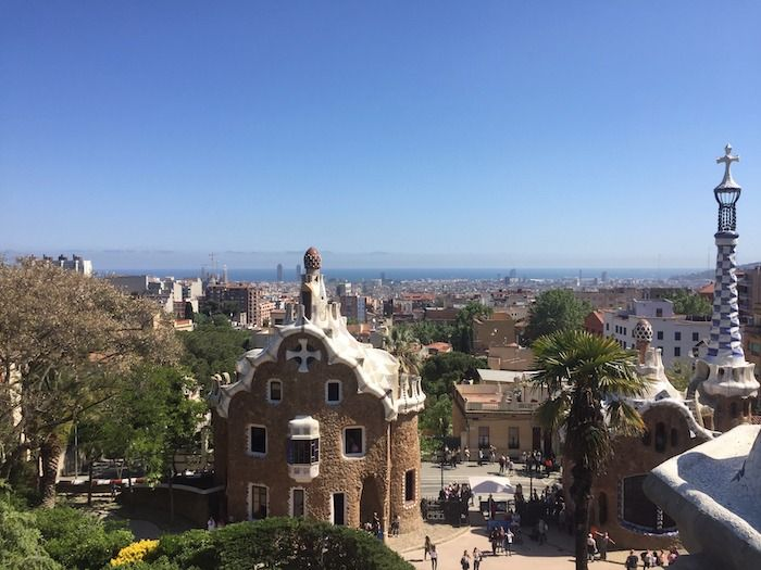 Park Guell Views of City