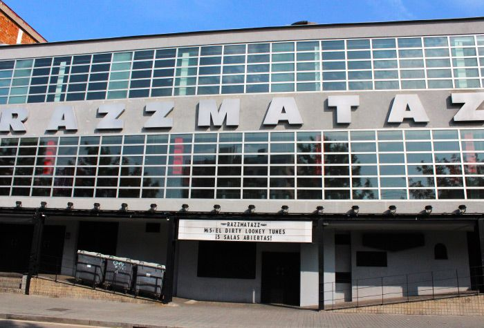 Razzmatazz Club in Barcelona