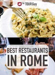 Restaurants in Rome Pinterest