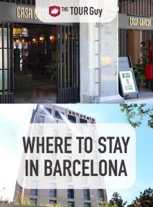 Where to Stay in Barcelona Pinterest