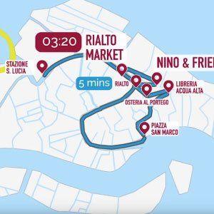 Venice Map in Italy