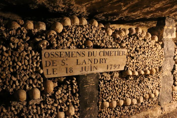 Parisian Catacombs