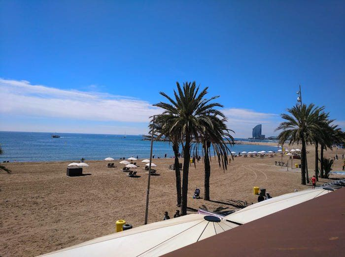 Barcelona's Seafront