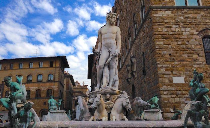 Neptune Piazza Signoria Florence The Tour Guy Tours