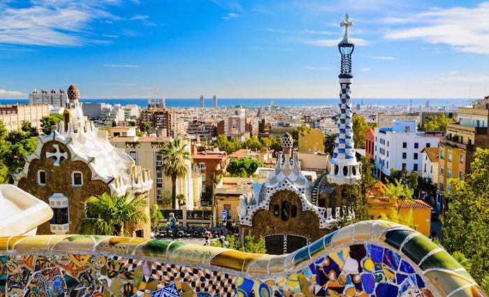 Park Guell Barcelona top Attractions