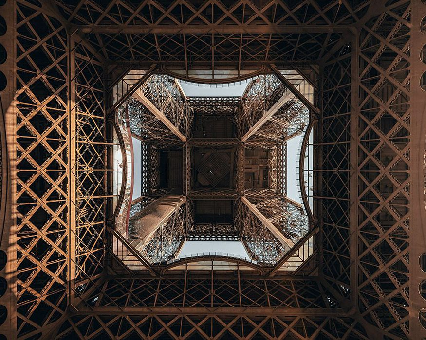 Attraction in paris Eiffel Tower