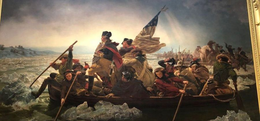 Washington Crossing the Delaware at the MET