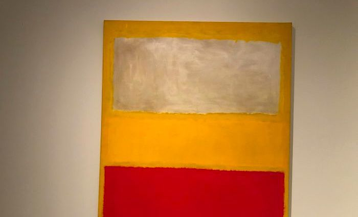 Mark Rothko tour at the MET
