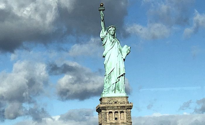 The tour guy statue of liberty tour