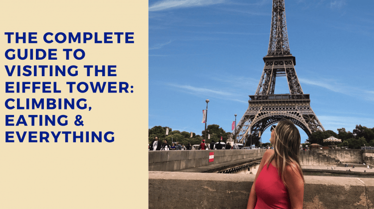 Guide to the Eiffel Tower, Paris