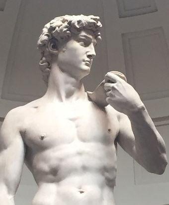 Michelangelo's David 340