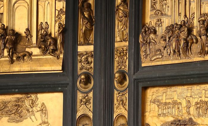 Bronze Baptistry Doors Top Florence Attractions