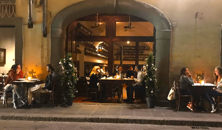 Il Santo Bevitore best restaurants in Santo Spirito Florence