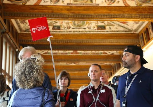 Guided tours of the Uffizi Gallery in Flroence