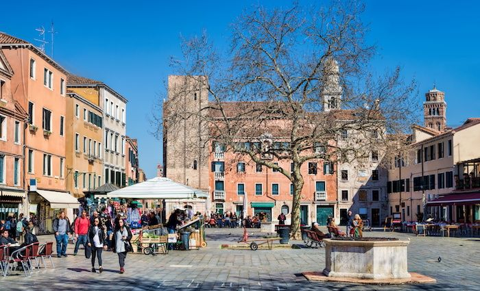 Campo Santa Margherita best Open Spaces in Venice Parks Square Piazza