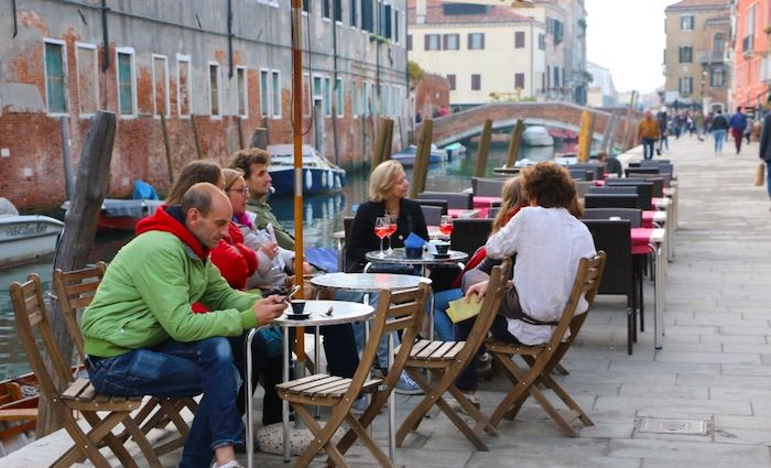 Cannaregio Outdoor Seating Misericordia