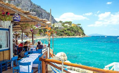 Europe's Best Restaurants Capri lo Smeraldo