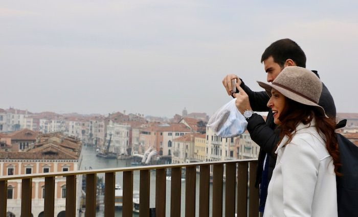 T. Fondaco  Tedeschi rooftop best photo opportunity Venice day trip