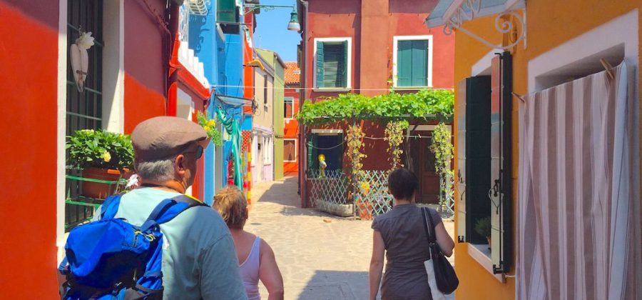 Getting to Burano in Venice 1440 x 675